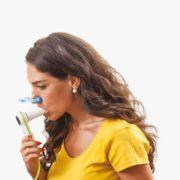 minispir fácil y manejable durante el test de espirometria