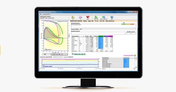 software espirometria spiroconnect mir