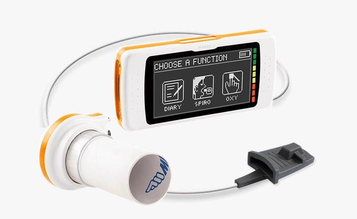 espirometro spirodoc_mir con opcion oximetría