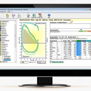 software espirometria winspiro light mir
