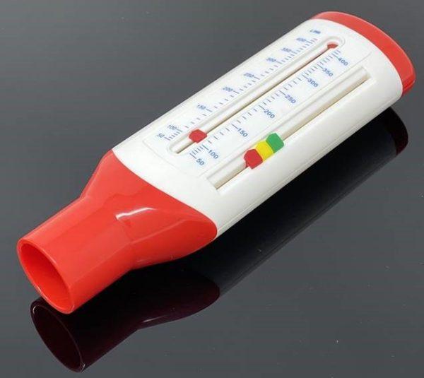 Medidor de pico de flujo (Peak-Flow) para pacientes pediátricos